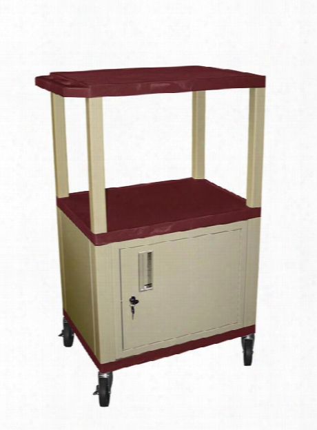 "42"" Tuffy Cart With Cabinet By H Wilson"