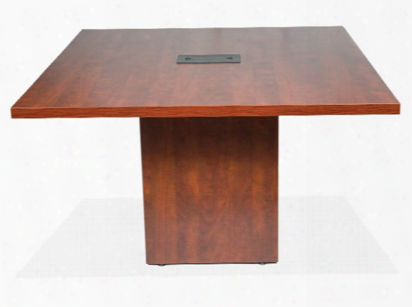 """48"""" Conference Table With Cube Base By Office Source"""