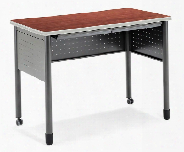 "48"" Standing Height Steel Desk By Ofm"