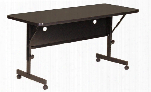 "48"" X 24"" Deluxe Flip Top Table By Correll"