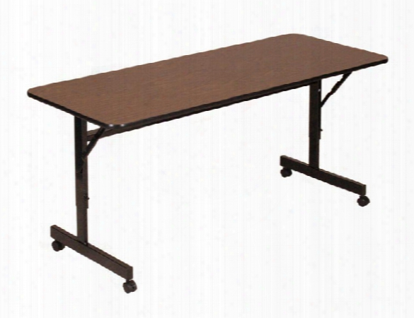 "48"" X 24"" Econoline Flip Top Table By Correll"