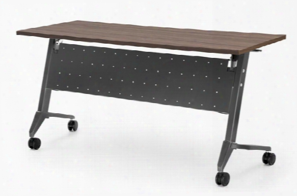 "48"" X 24"" Flip Top Training Table By Office Source"