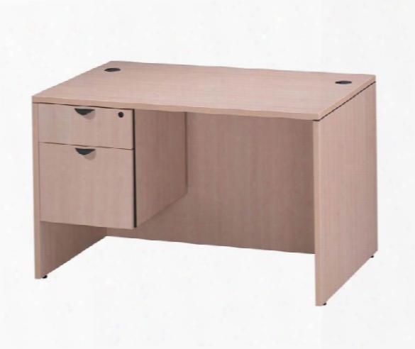 """48"""" X 30"""" Single Pedestal Desk By Office Source"""