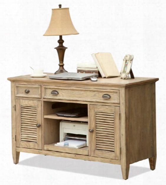 """50"""" Credenza Desk By Riverside"""