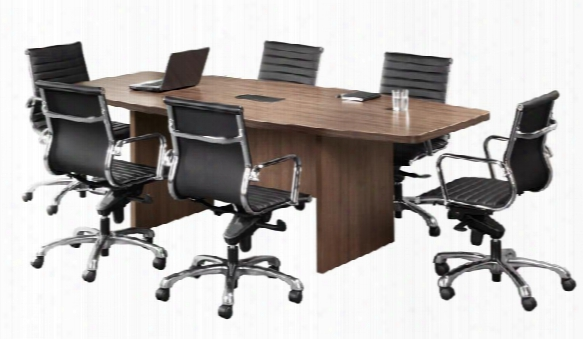 6' Boat Shaped Conference Table By Office Source