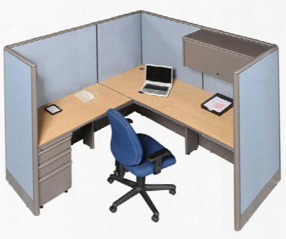 6' X 6' Single L Shaped Workstation By Marvel
