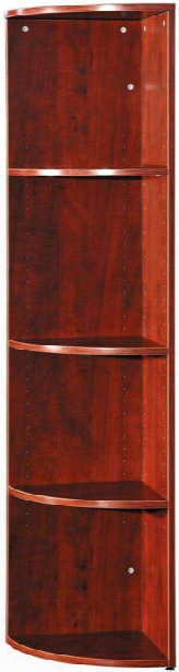 """66"""" High Corner Bookcase By Office Source"""