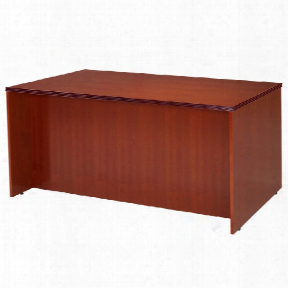 "66"" X 30"" Wood Veneer Rectangular Desk Shell By Rudnick"