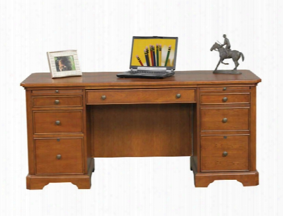 "66""w X 27""d X 30""h Flat Top Desk By Wilshire Furniture"