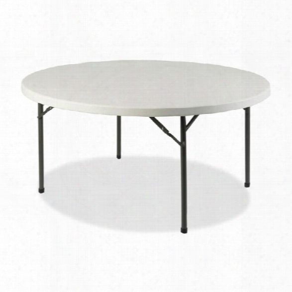 "71"" Round Ultra Lite Banquet Table By Lorell"