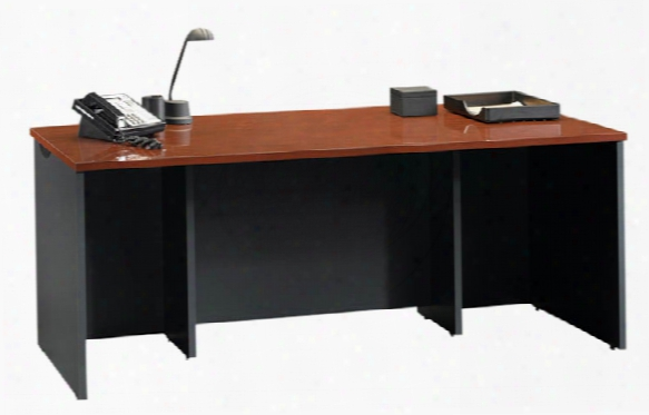 "72"" Bow Front Executive Desk Shell By Sauder"