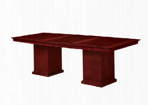 8' Boat Shaped Conference Table By Dmi Office Furniture