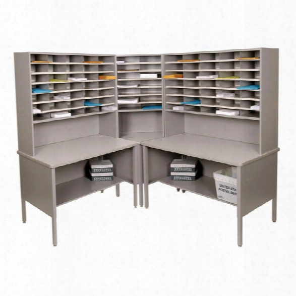 84 Slot Corner Literature Organizer By Marvel