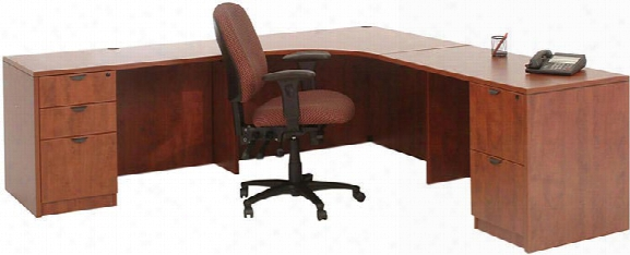 """89"""" X 89"""" Corner Desk By Marquis"""