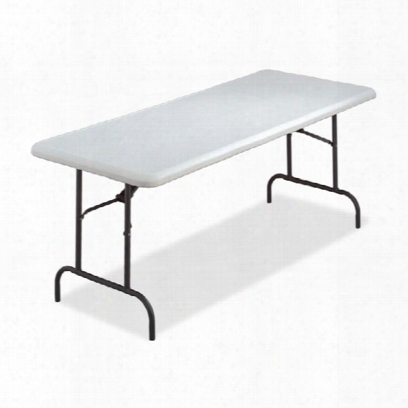 "96"" X 30"" Ultra Lite Folding Table By Lorell"