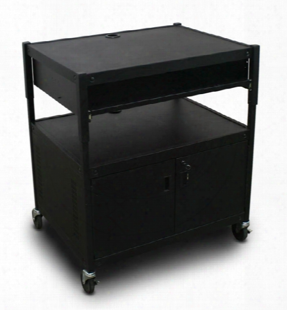 Adjustable Cart With 1 Pull-out Front-shelf, Cabinet By Marvel