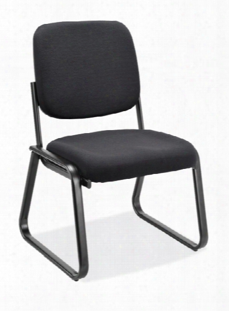 Armless Sled Base Guest Chair By Office Source