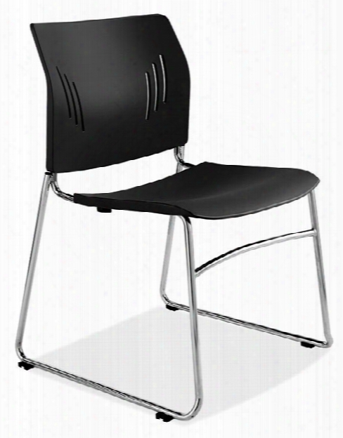Armless Stackable Side Chair By Office Source