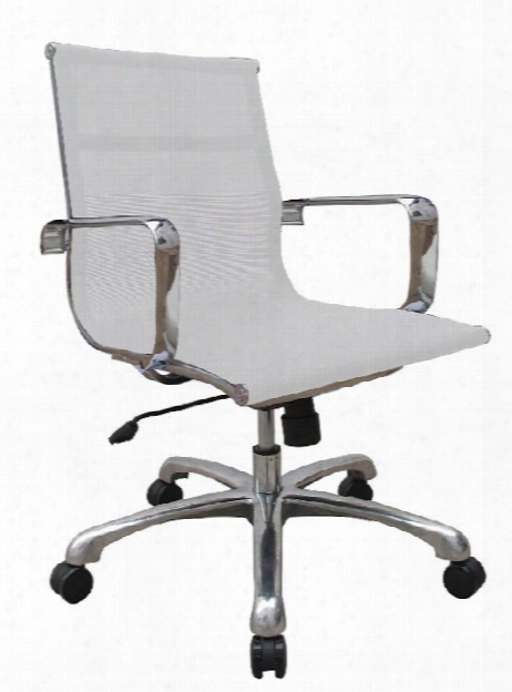 Baez Mid Back Mesh Chair By Woodstock