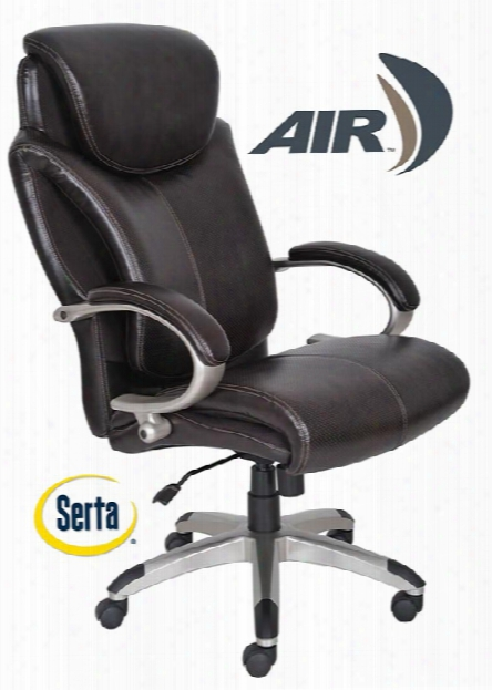 Big And Tall Leather Executive Chair By Serta Seating