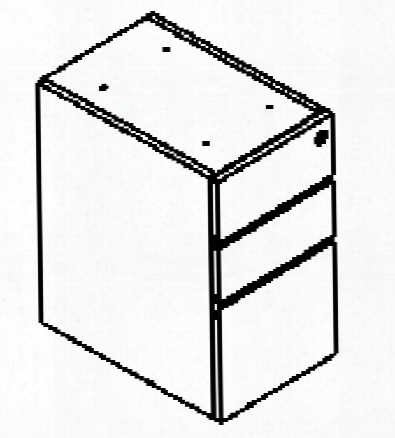 Box/box/file Pedestal Pl166 By Office Source