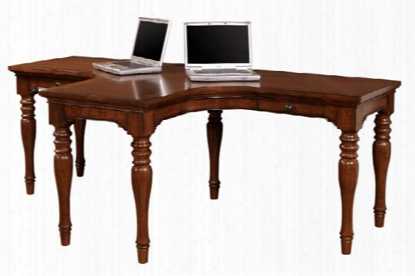Charlestown Dual T Desk By Aspen Home