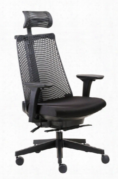 Contemporary Executive Chair With Headrest By Boss Office Chairs