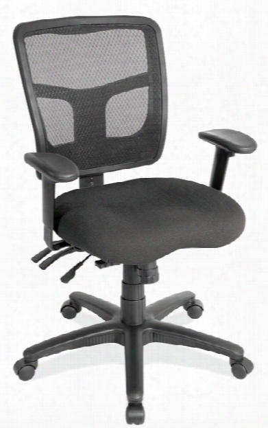 Cool Mesh Mid Back Chair With Fabric Seat By Office Source