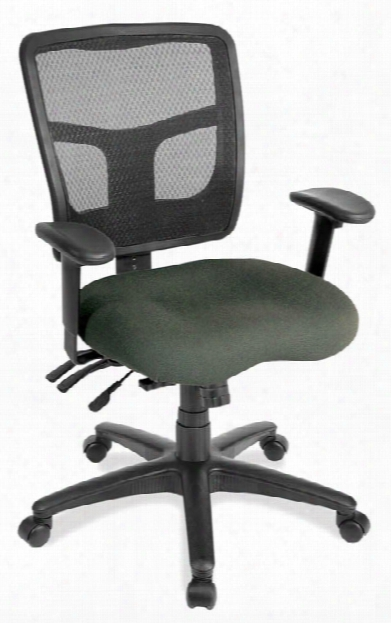 Cool Mesh Multi Function Mid Back Chair By Office Source