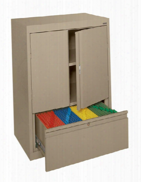 Counter Height Storage Cabinet With File Drawer In Proportion To Sandusky Lee