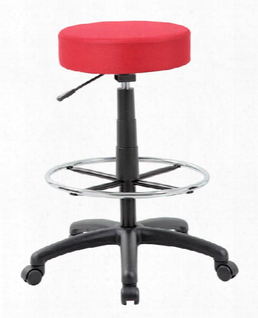 Dot Mesh Drafting Stool By Boss Office Chairs