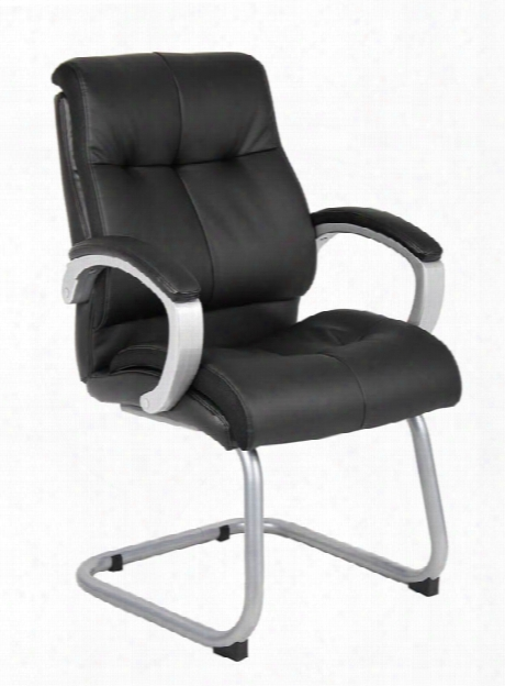 Double Plush Executive Guest Chair By Boss Office Chairs