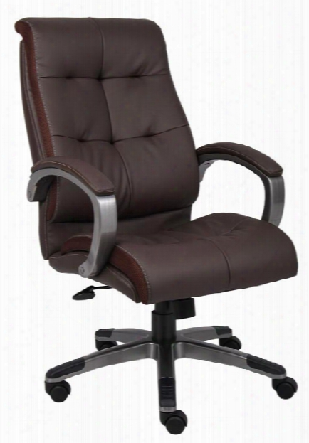 Double Plush High Back Executive Chair By Boss Office Chairs