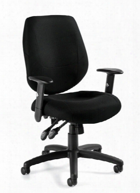 Ergonomic Chair With Adjustable Arms By Offices To Go