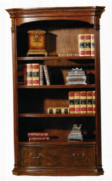 Executive Bookcase With File Drawer By Hekman Furniture