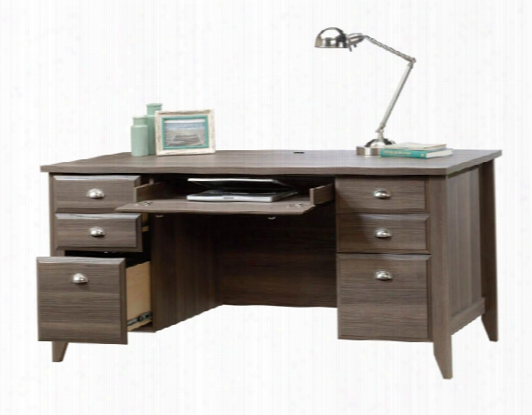 Executive Double Pedestal Desk By Sauder