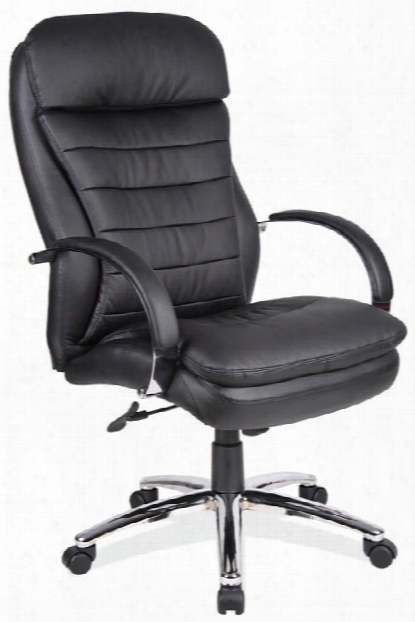 Executive High Back Chair With Chromd Frame By Office Source