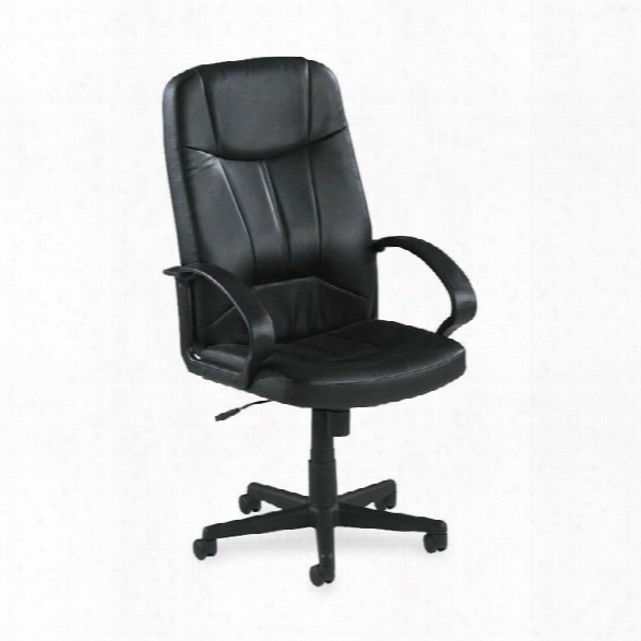Executive High Back Leather Chair By Lorell