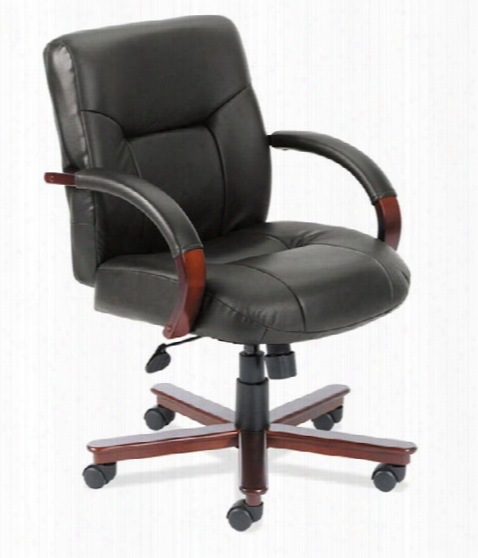 Executive Mid Back Chair By Office Source
