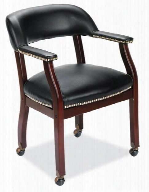Guest Chair With Casters By Office Source
