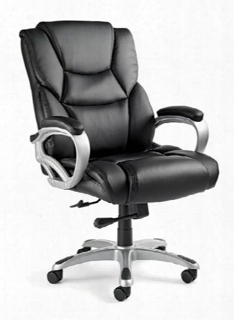 Hamburg Big & Tall Premium Bonded Leather Chair By Samsonite