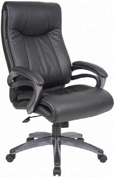 High Back Leather Chair By Boss Office Chairs