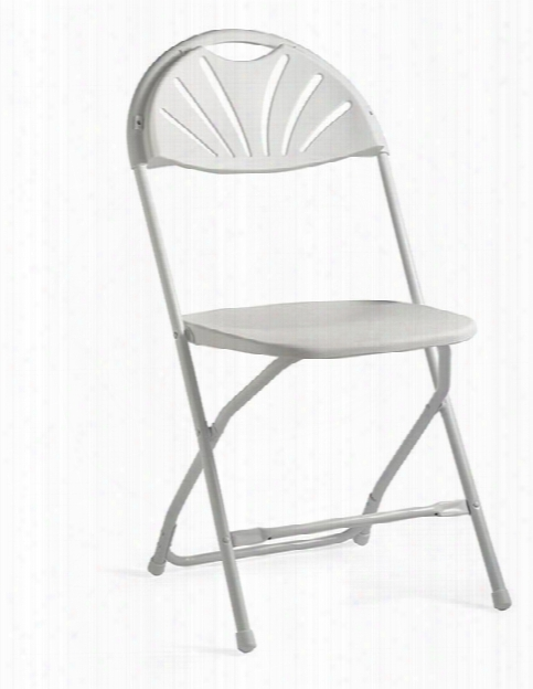 Injection Mold Fanback Folding Chair By Samsonite
