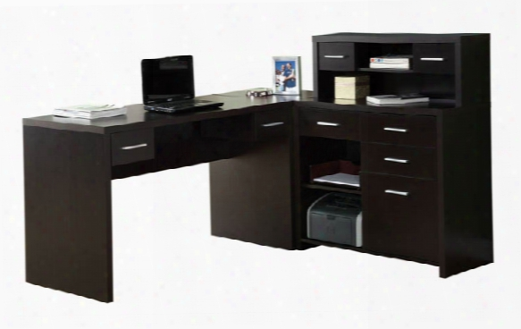 L Shaped Desk By Monarch