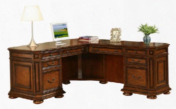 L Shaped Desk By Riverside