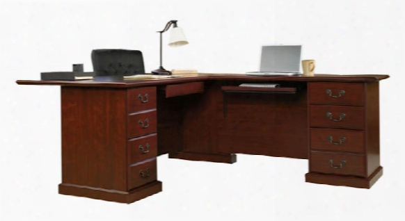 L Shaped Desk By Sauder