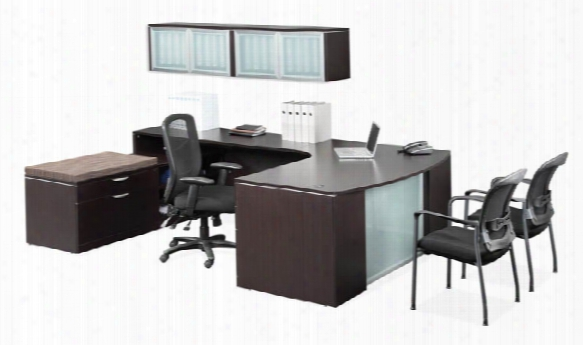 L Shaped Desk With Additional Storage By Office Source