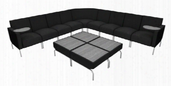 L Shaped Modular Lounge Configuration By Ofm