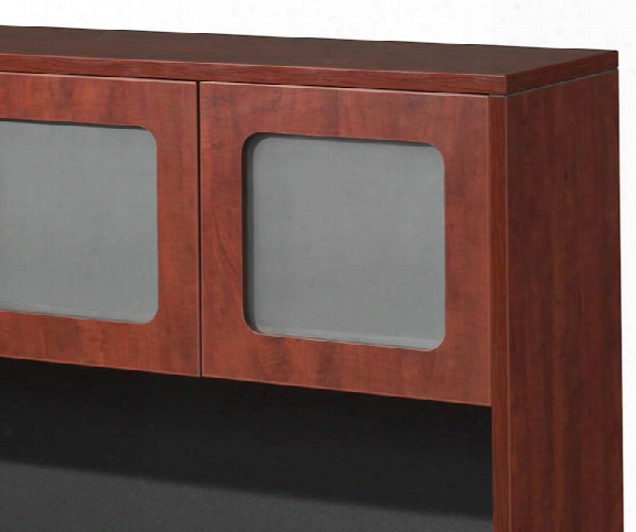Laminate Framed Glass Doors For Hutch By Office Source