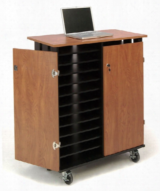 Laptop Charging And Storage Cart By Oklahoma Sound